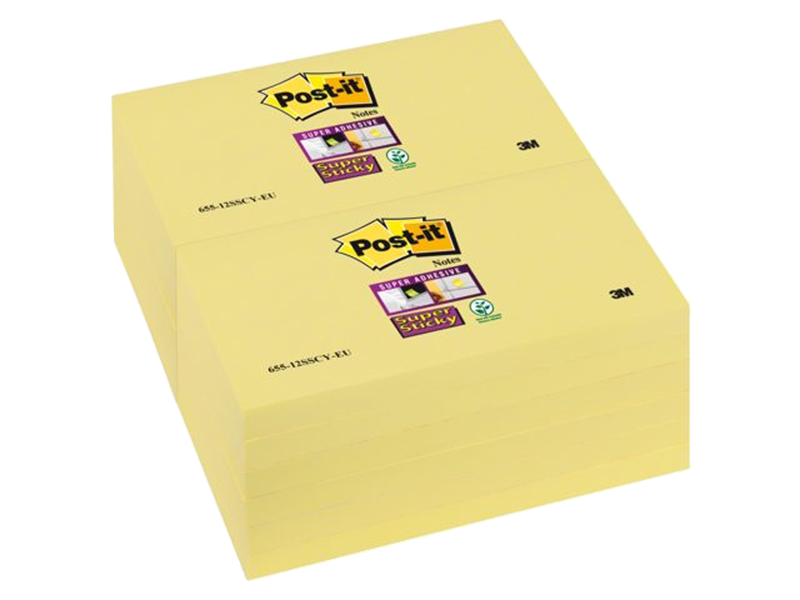 3M Post-It Memoblok 76x127mm