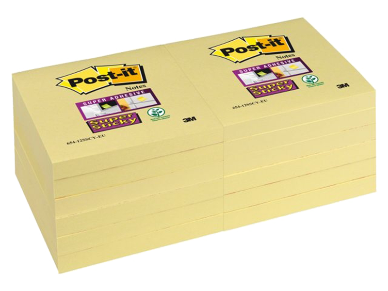 3M Post-It Memoblok 76x76mm