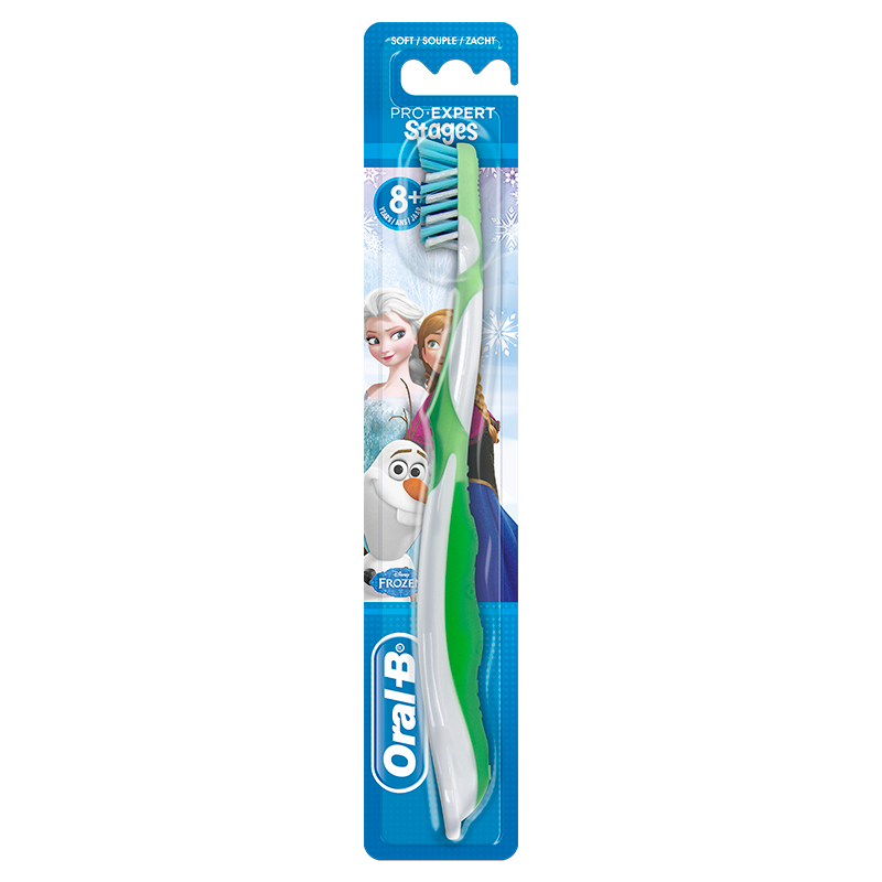 Oral-B CrossAction Kids Handtandenborstel met Frozen-figuren
