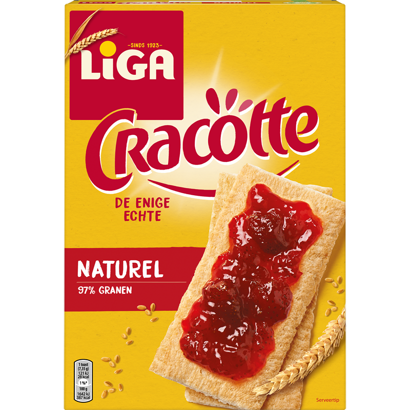 LU cracotte naturel: nu 1+1 GRATIS