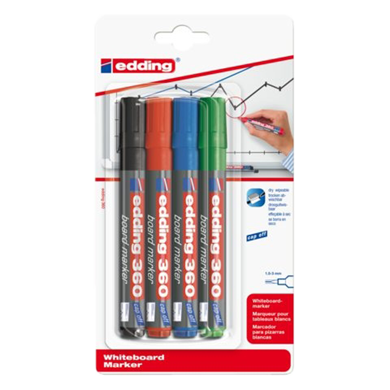 Edding marker 360 Whiteboard Rond1.5-3mm