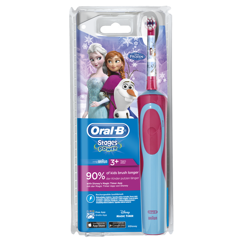 Oral-B Stages Power Kids Elektrische Tandenborstel met Frozen-figuren