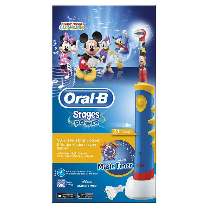 Oral-B Stages Elektrische Tandenborstel Mickey Mouse