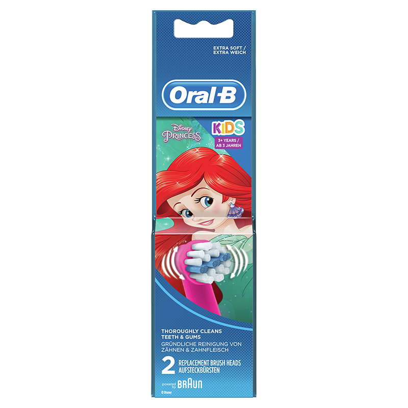 Oral-B Stages Power Vervangende Elektrische Opzetborstels met Disneyfiguren