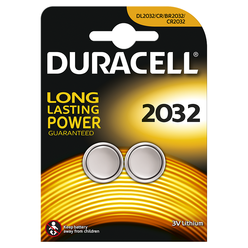 Duracell Specialty 2032 incl. stibat