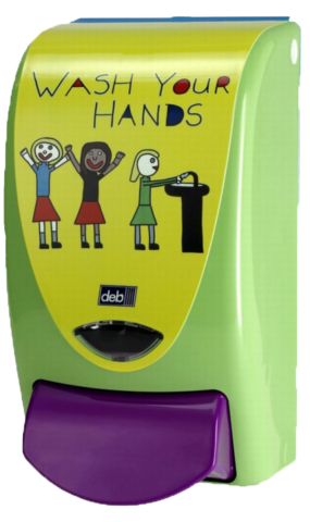 Deb Wash your hands Zeepdispenser