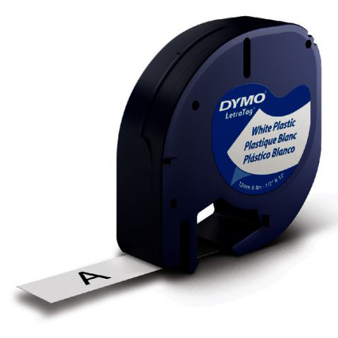 Dymo Labeltape voor Letratag 91201