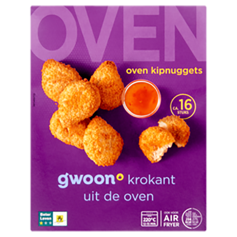 G'woon Oven Kipnuggets