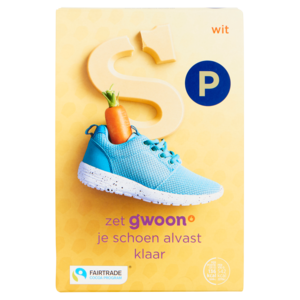 G'woon Chocolade Letter Wit