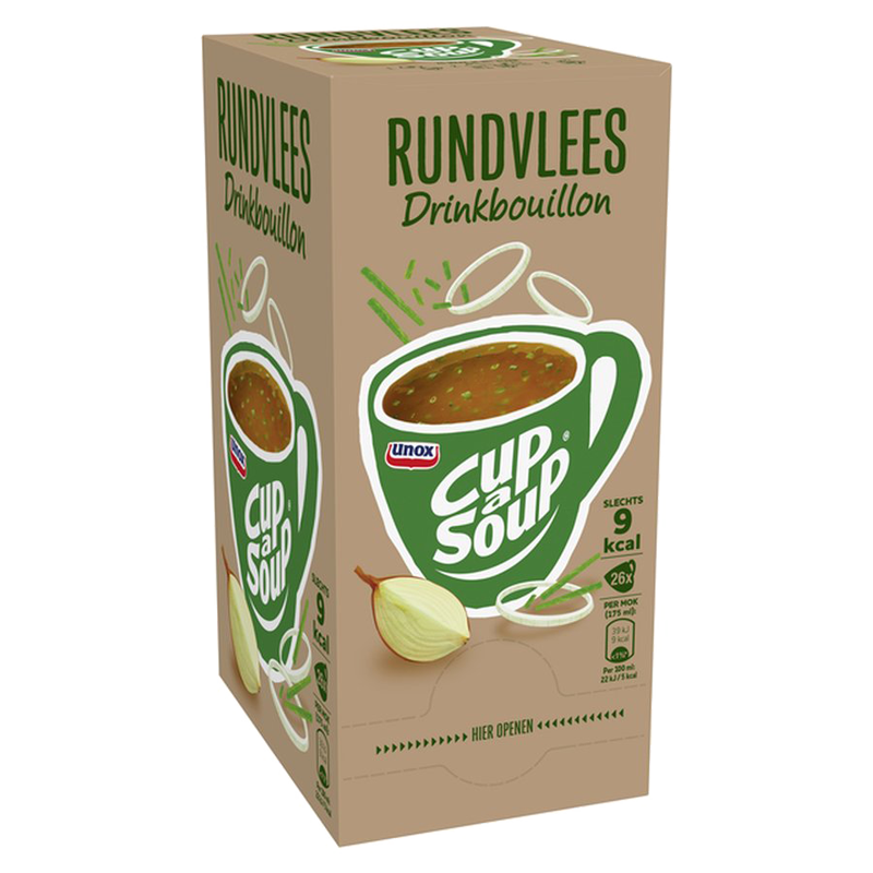 Cup-a-Soup Rundvlees Drinkbouillon