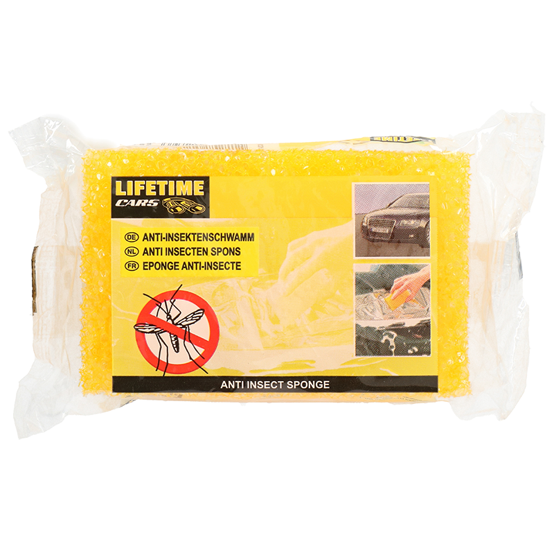 Anti Insectenspons geel Lifetime Cars