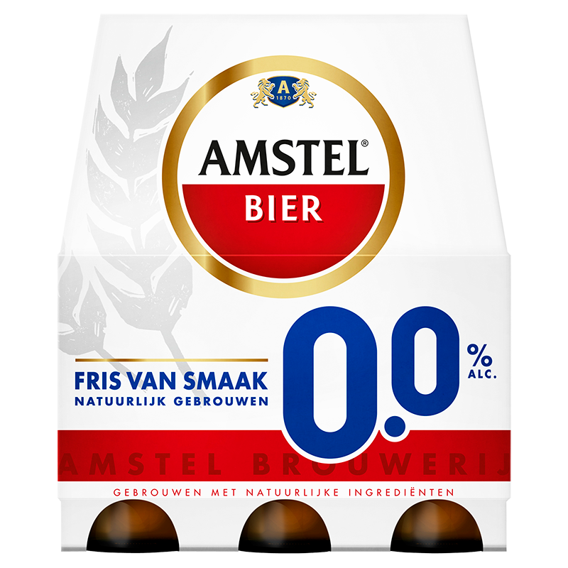 Amstel 0,0 % alc.6 x 33 CL