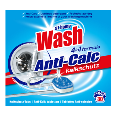 At Home Wash Was Tabs Anti-Calc